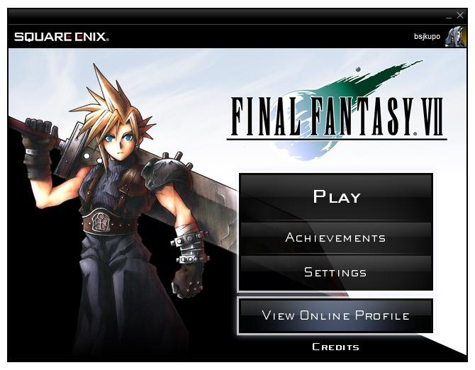 FF7 Client screen1