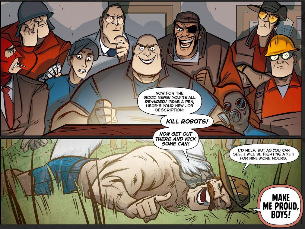 Tf2 comic update