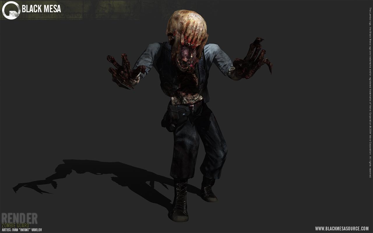 black mesa zombie