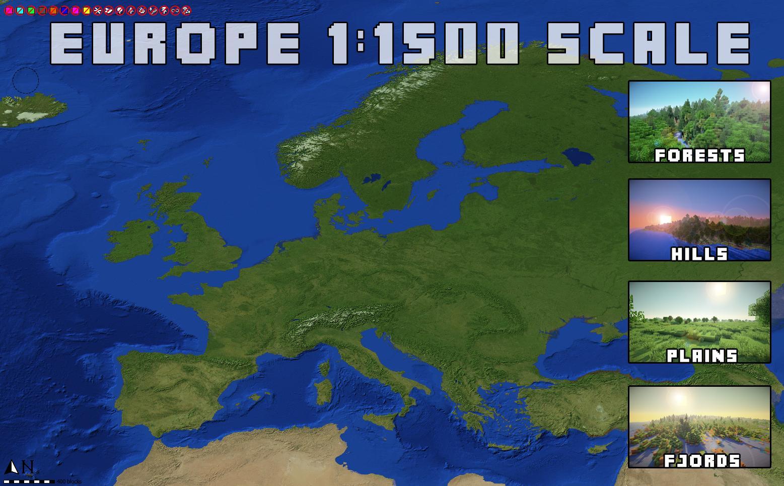 europe mincraft