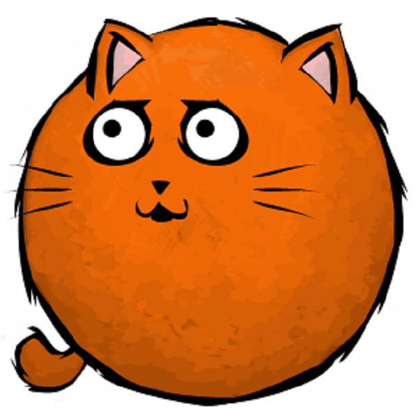 orangecatlookingleft