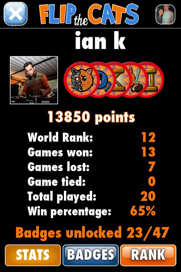 player stats   ranking