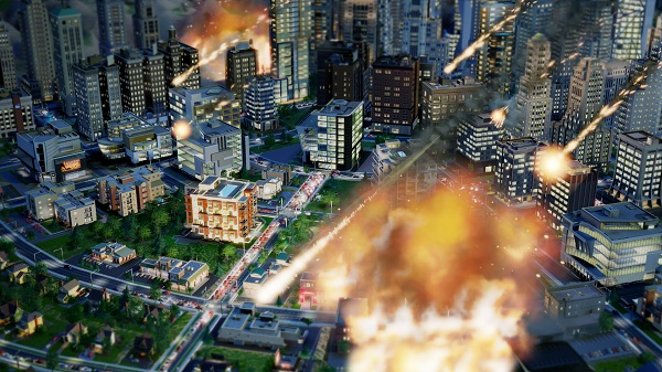 simcity disasters meteor