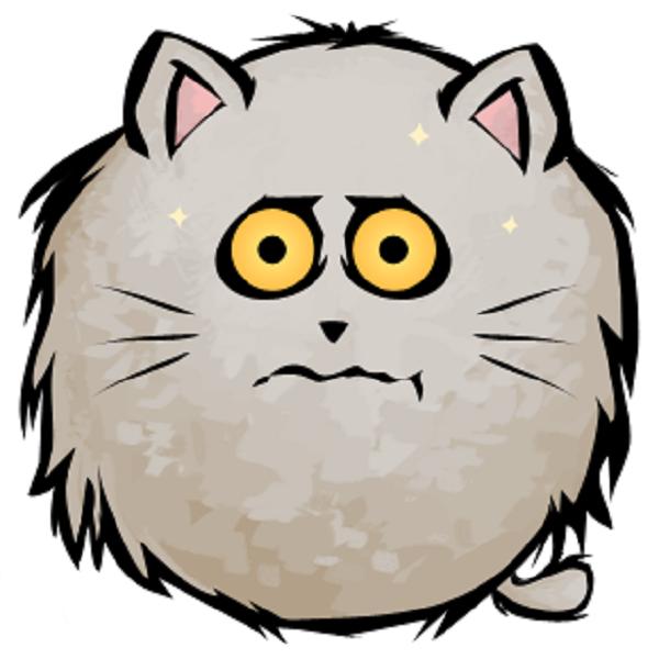 whitedazedcat