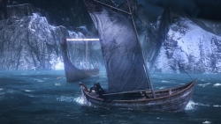 7 The Witcher 3 Wild Hunt Boat on the Sea