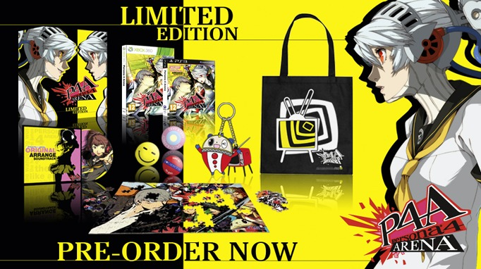 persona 4 a limited edition