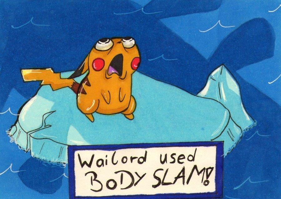 Wailord Body Slam