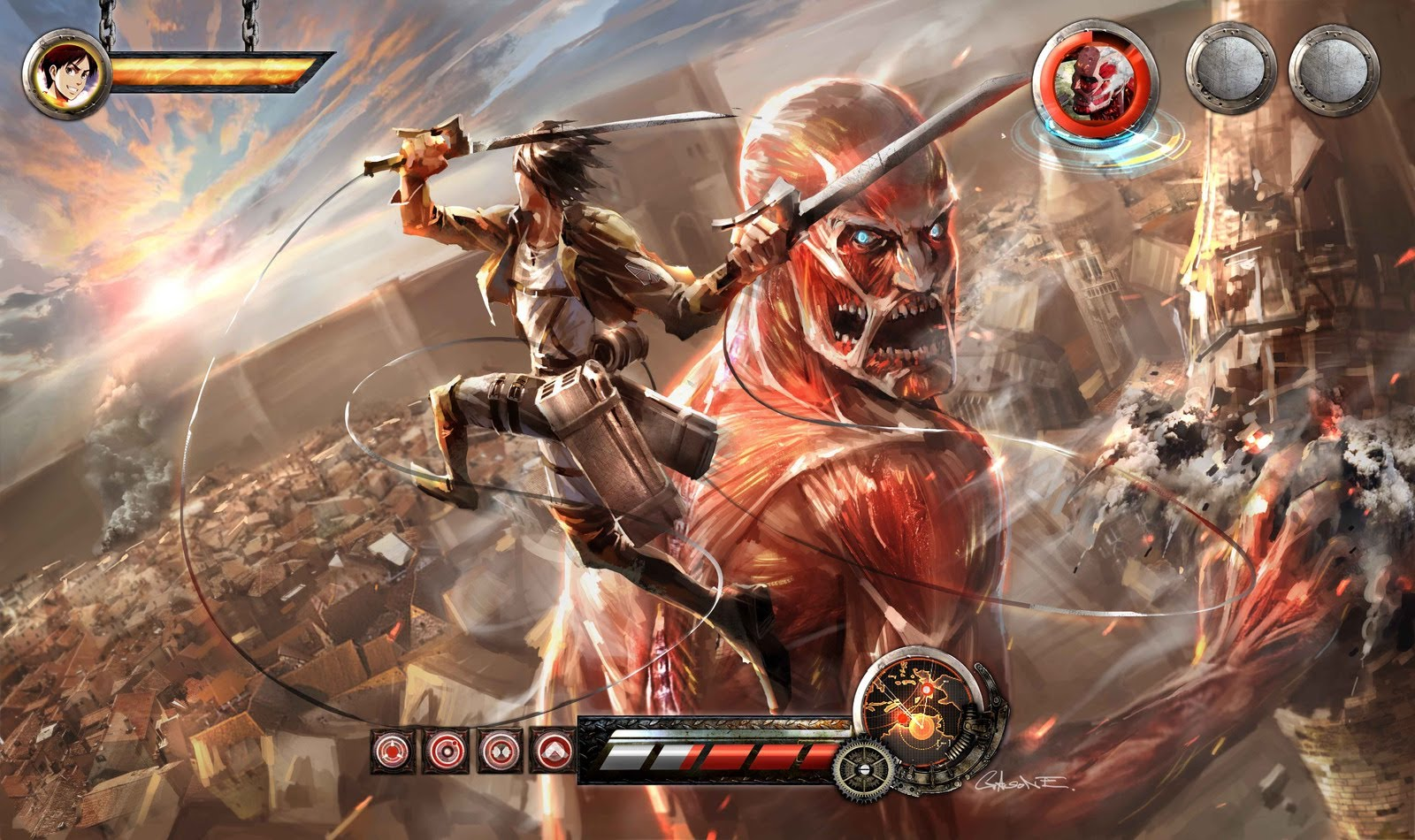 attack on titan concept
