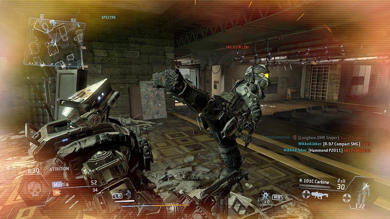 Titanfall Kick