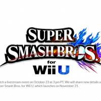Smash Wii U Nintendo Direct