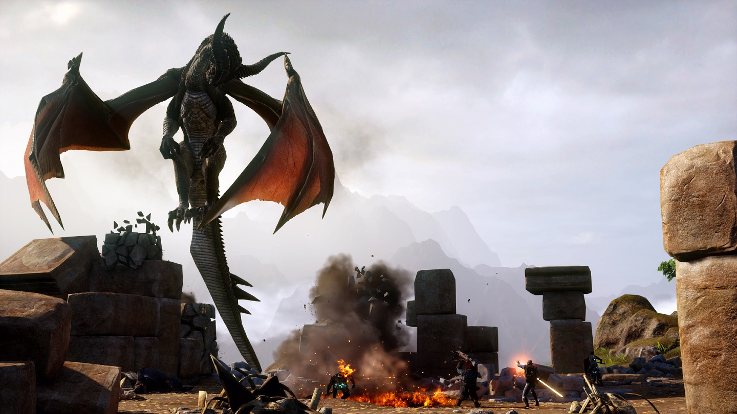 This third title really puts the dragons in Dragon Age: Inquisition