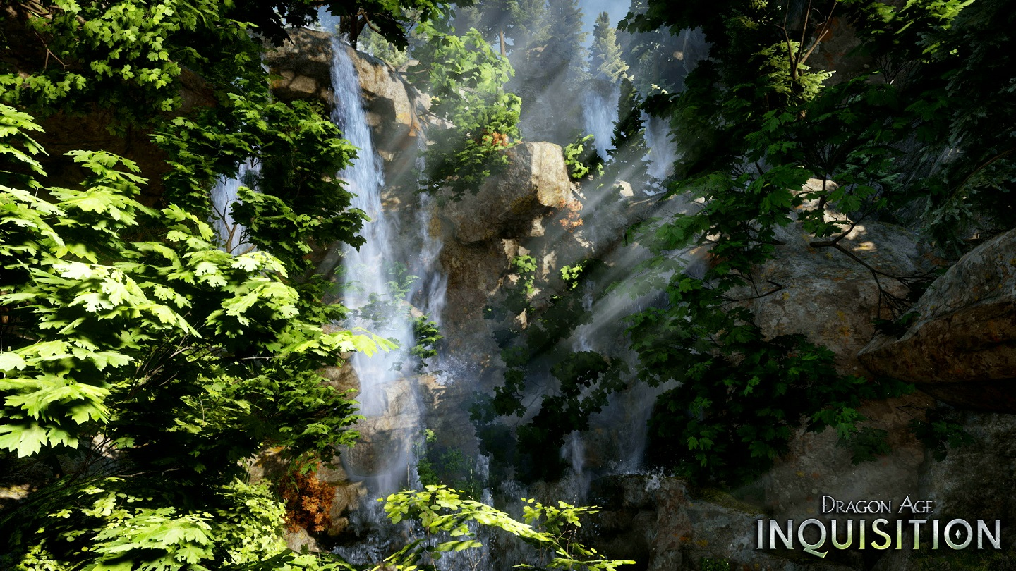 The Inquisition is lucky enough to traverse through some beautiful landscapes