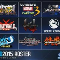EVO 2015 Lineup