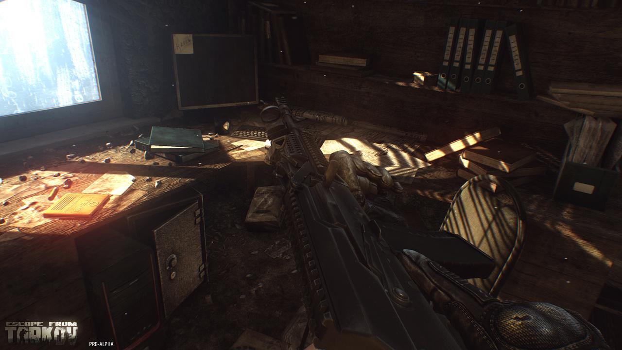 Escape from Tarkov gun