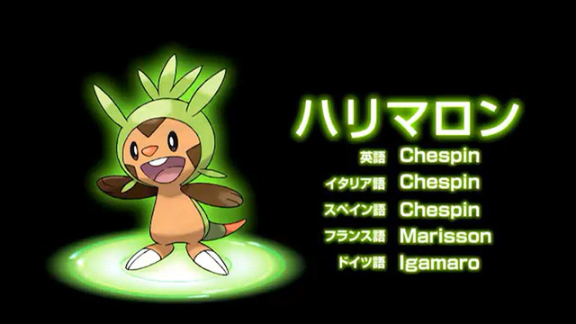 Chespin grass