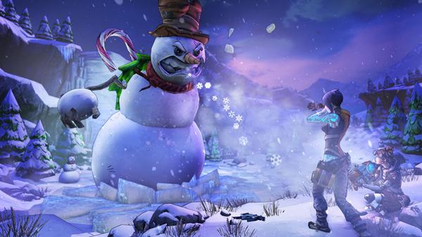 BL2 HH3 Mercenary SnowmanBossFight
