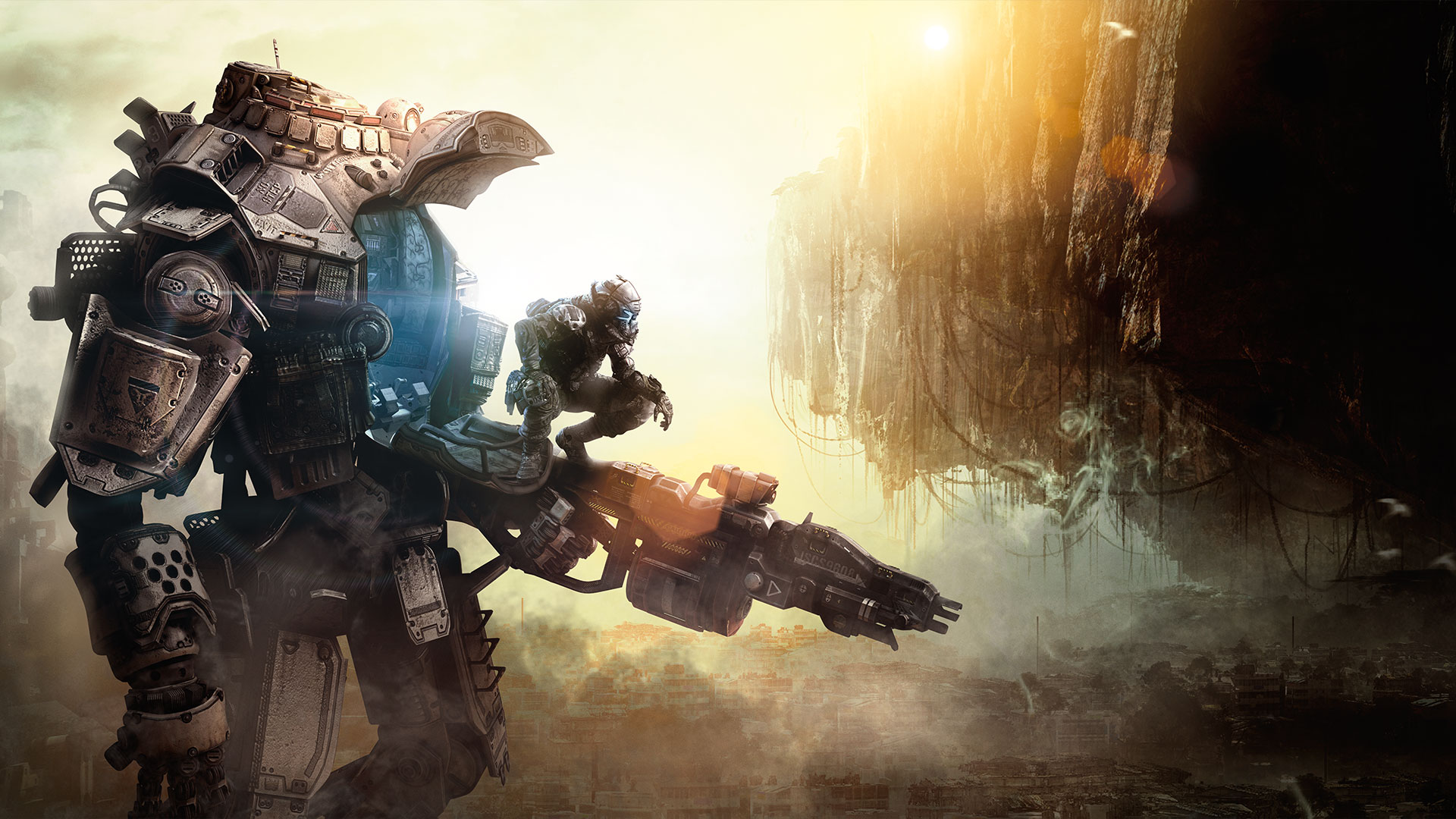 Titanfall-Mech-Player