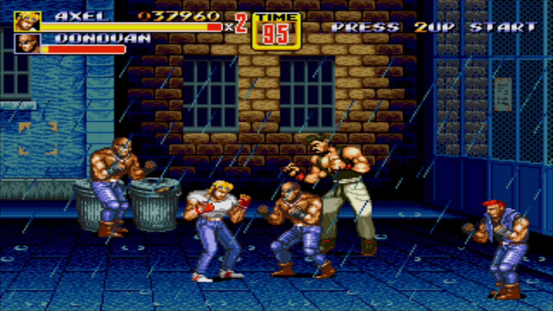 Streets Of Rage Ii Releases On 3ds Shop Vgu