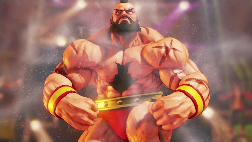 Zangief Spins Into Street Fighter V Vgu