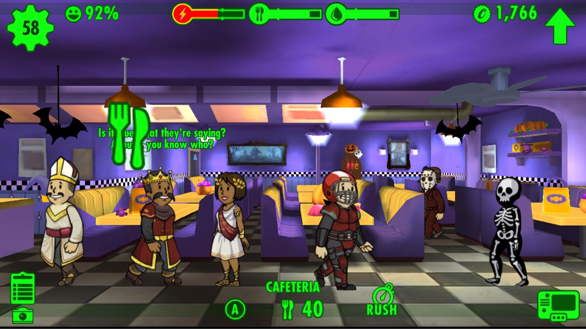 Fallout Shelter Halloween Update 2020 Fallout Shelter Goes Halloween Themed in Latest Update   VGU