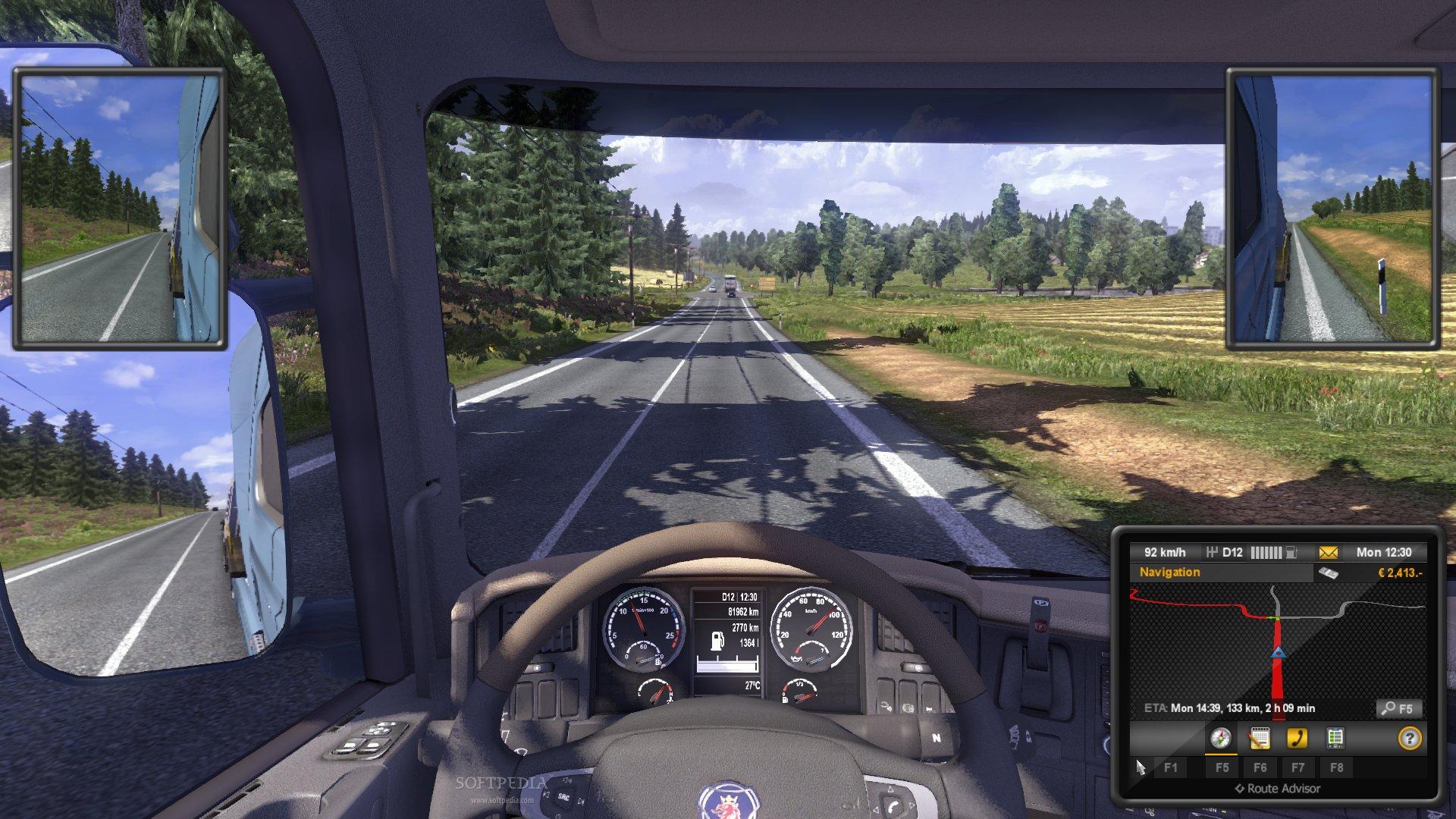 euro truck simulator 2 free download full game