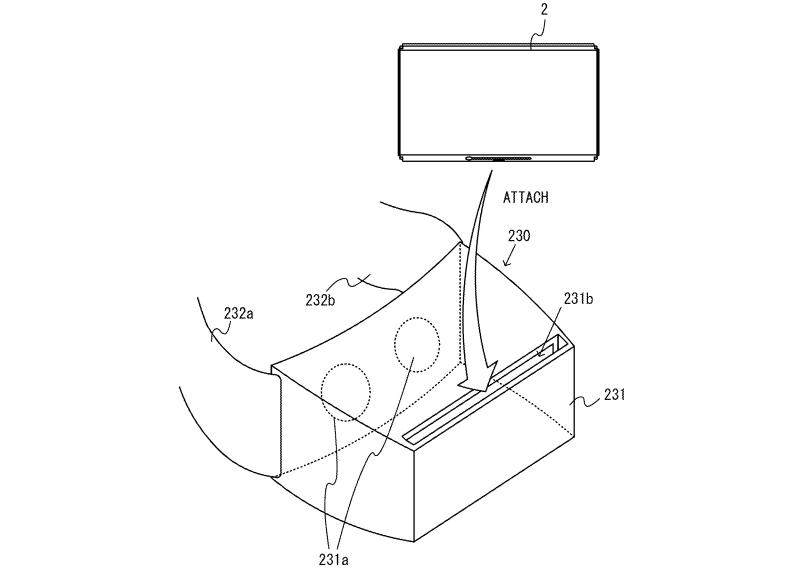 nintendo patent VR