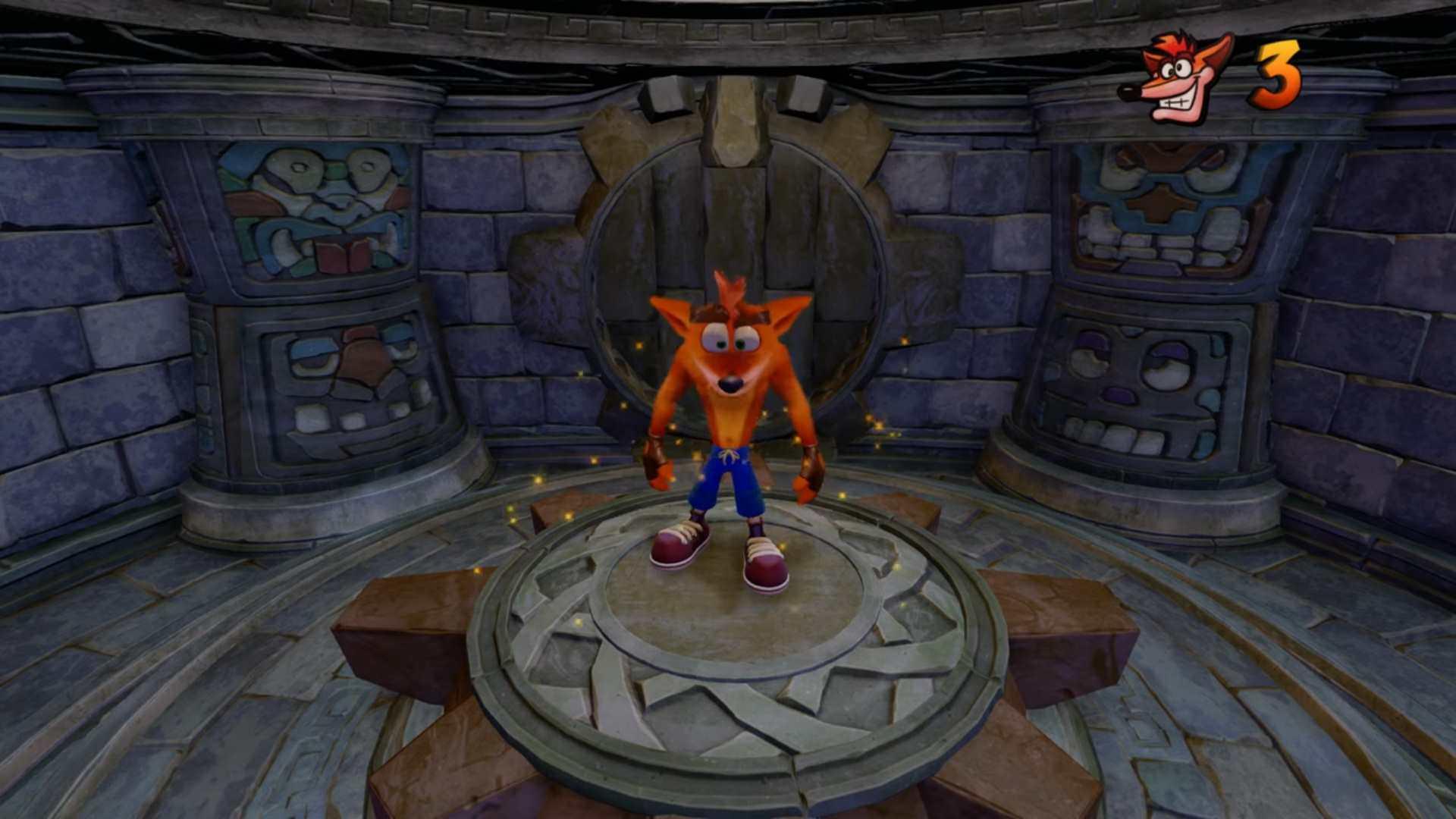 Crash Bandicoot N  Sane Trilogy Hang Eight Gameplay Revealed