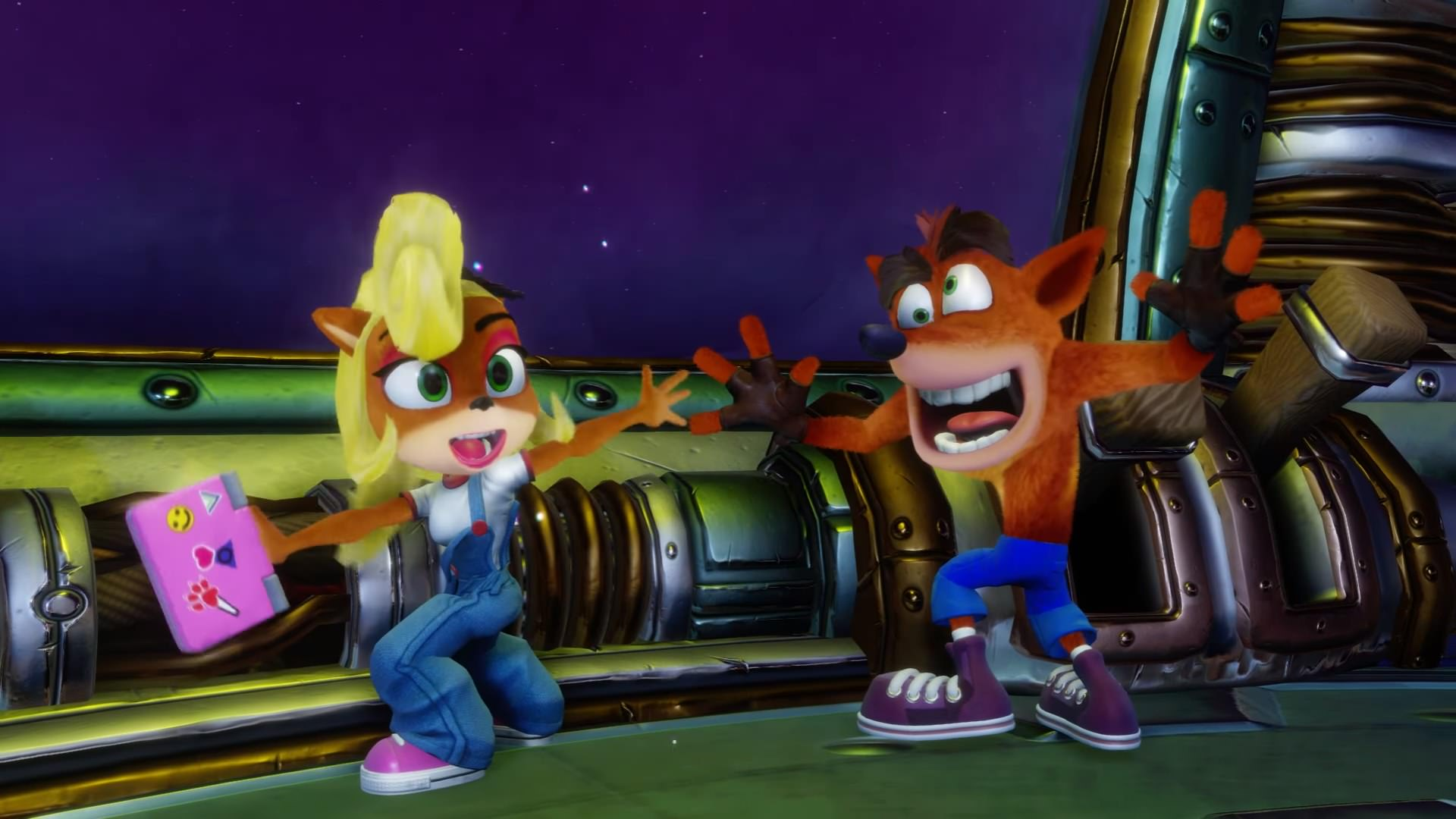 Coco To Be Fully Playable In Crash Bandicoot N Sane Trilogy Vgu