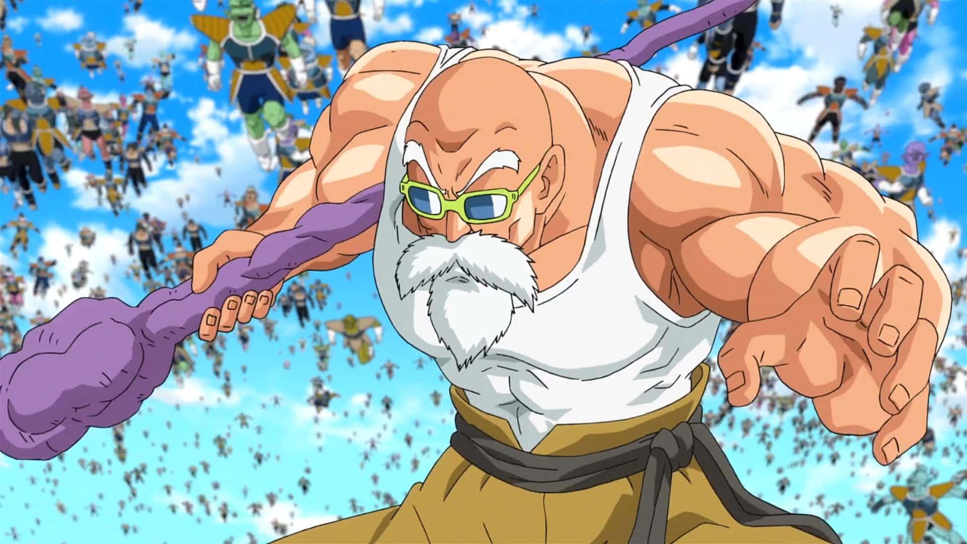 Master Roshi Dragon Ball Z Resurrection F 4 Vgu