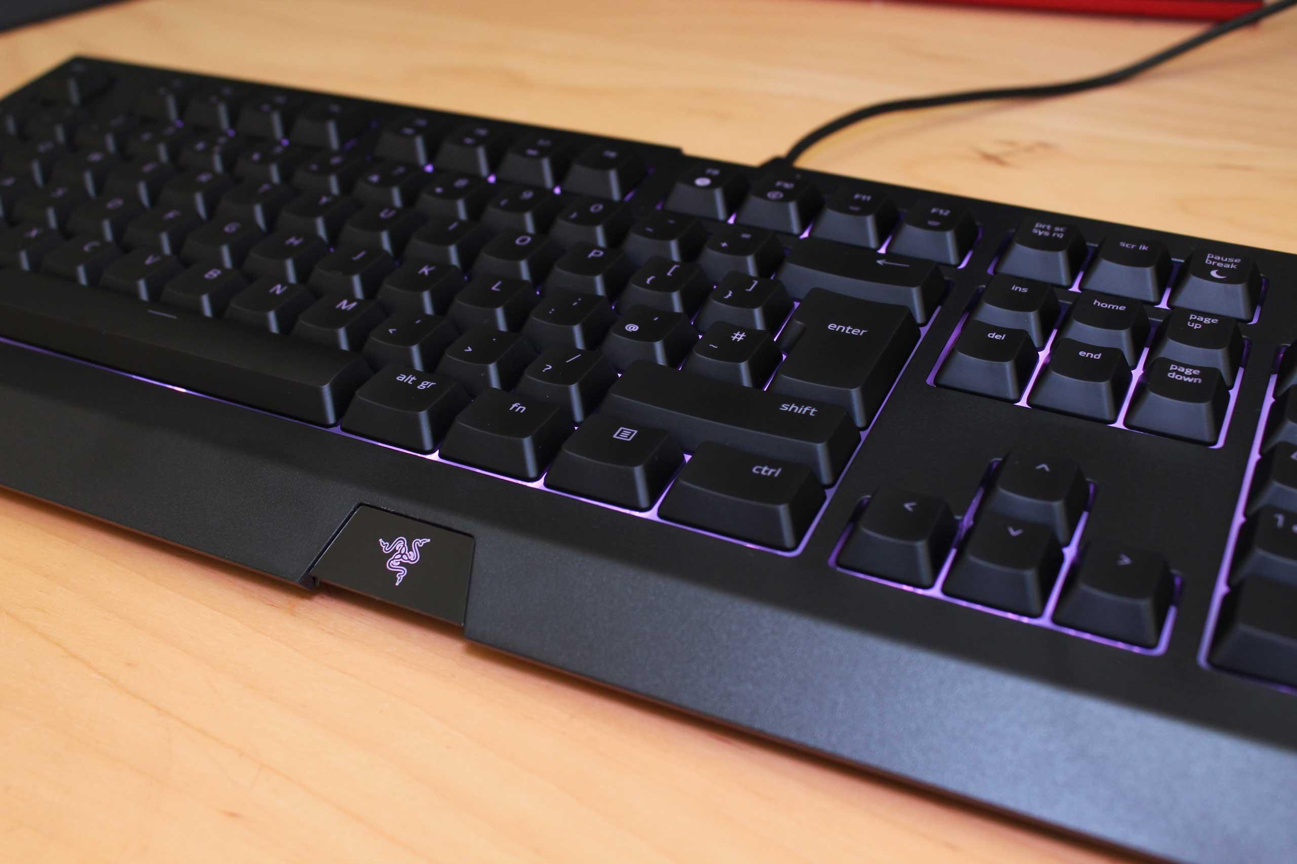 Razer Cynosa Chroma Gaming Keyboard Review Vgu