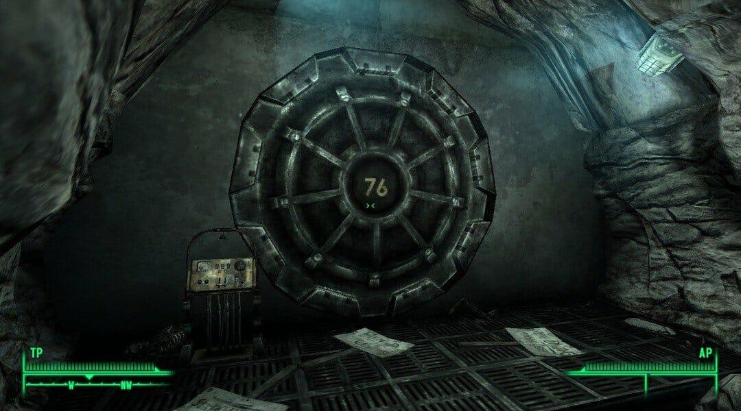 fallout 76 vault door